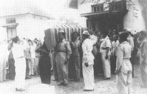 Pemakaman Pak Dirman, 29 Januari 1950,  hanya 1 bulan berselang setelah Pengakuan Kedaulatan RI